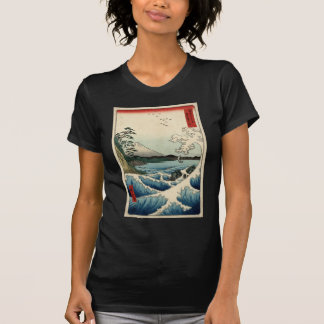 Hiroshige The sea at Satta in Suruga Province T-Shirt
