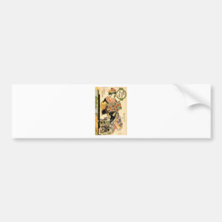 Hiroshige - UKIYOE- Bumper Stickers