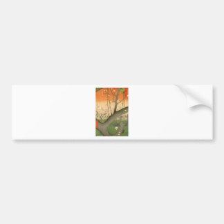 Hiroshige - UKIYOE- Bumper Sticker