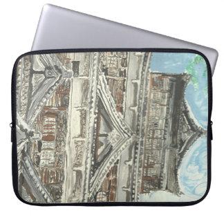 Hiroshima Castle Japan Computer Laptop Sleeve