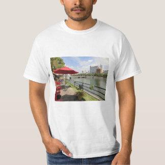 Hiroshima city. Open coffee of capital bridge T-Shirt