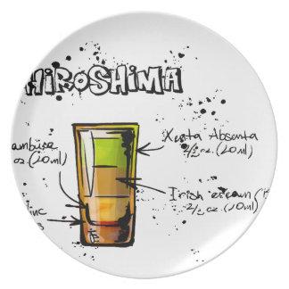 Hiroshima Cocktail  Recipe Plate