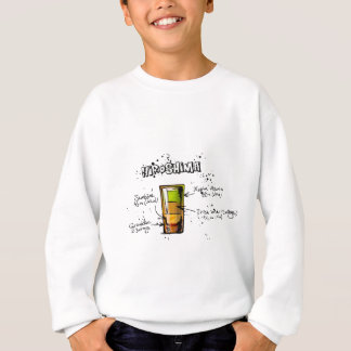 Hiroshima Cocktail  Recipe Sweatshirt