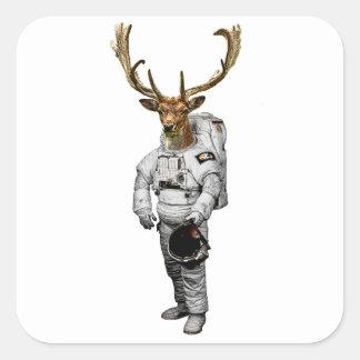 Hirsch Astronaut Sticker