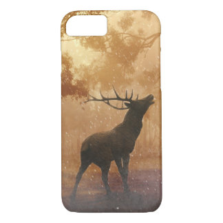 Hirsch beautiful nature scenery iPhone 7 case