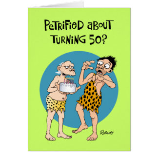 His 50th Birthday Greeting Card