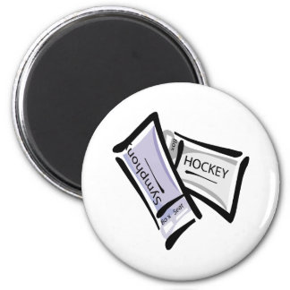 His and Hers Tickets 6 Cm Round Magnet
