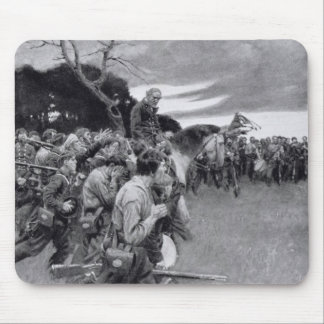 His army broke up weeping and sobbing' mouse mat