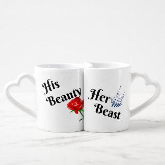 His Beauty, Her Beast Coffee Mug Set