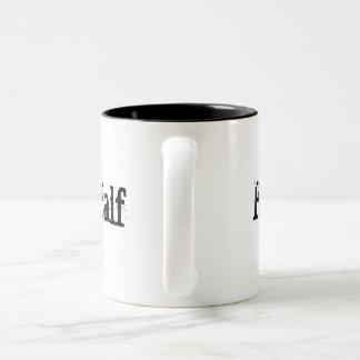 His Better Half 2 Two-Tone Coffee Mug