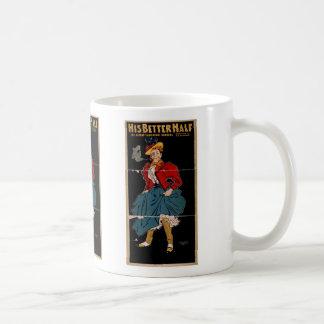 His Better Half Retro Theater Coffee Mug