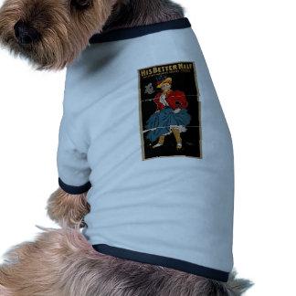 His Better Half Retro Theater Dog Clothing