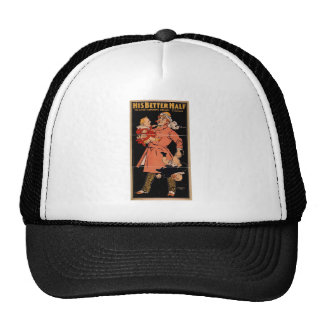 His Better Half Vintage Theater Trucker Hat