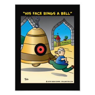 """""""His Face Rings A Bell"""" Photo Print"""