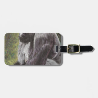 His Fragile World! Luggage Tag