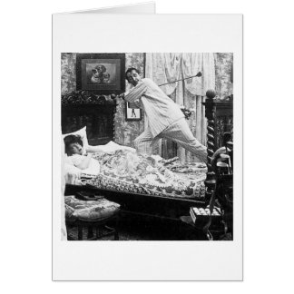 His Golf Dream is Her Golf Nightmare Vintage Greeting Card