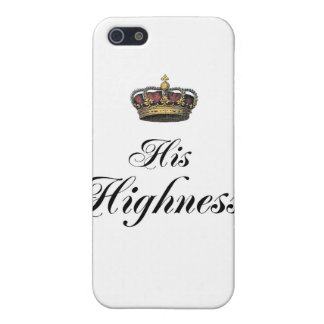 His Highness (part of his and hers set) iPhone 5 Covers