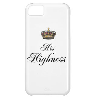 His Highness (part of his and hers set) iPhone 5C Case