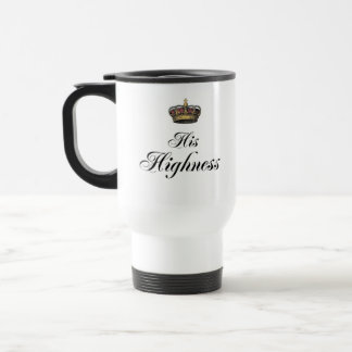 His Highness (part of his and hers set) Travel Mug