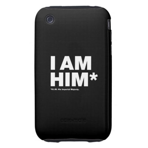 His Imperial Majesty iPhone 3 Tough Cases