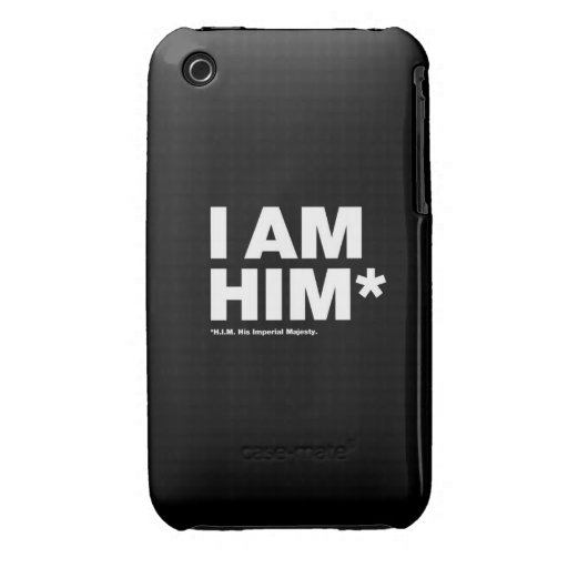 His Imperial Majesty Case-Mate iPhone 3 Case