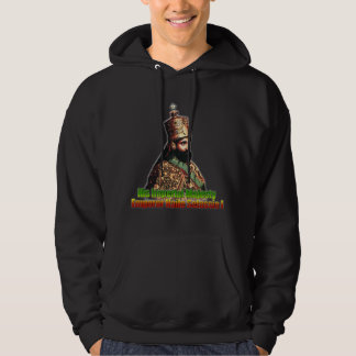 His Imperial Majesty Emperor Haile Selassie I Hoodie