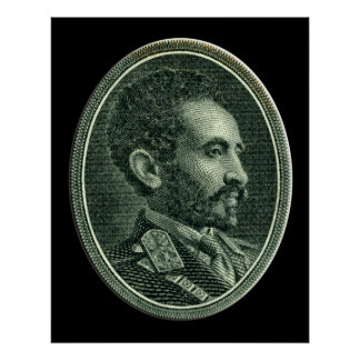 His Imperial Majesty Emperor Haile Selassie I Poster