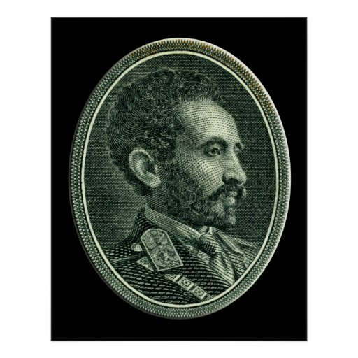 His Imperial Majesty Emperor Haile Selassie I Posters