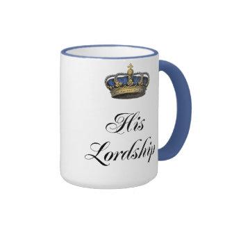 His Lordship Ringer Mug