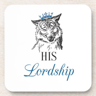 His Lordship set of 6 Coasters
