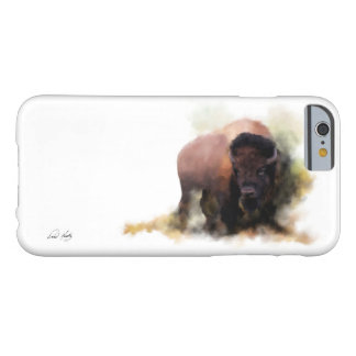 'His Majesty' Painted Buffalo iPhone Case Barely There iPhone 6 Case