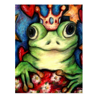 His Majesty The Frog Prince Postcard