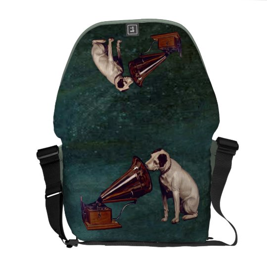 His Master's Voice Father's Day Courier Bags