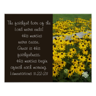His Mercies Are Great! Poster