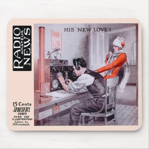 """""""His New Love"""" Mousepads"""