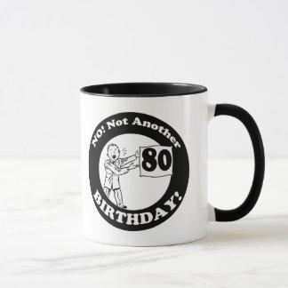 His Not My 80th Birthday Gifts Mug