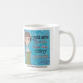His Painted Word -Sparrows-Coffee Mug