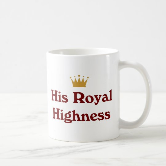 His Royal Highness Coffee Mug