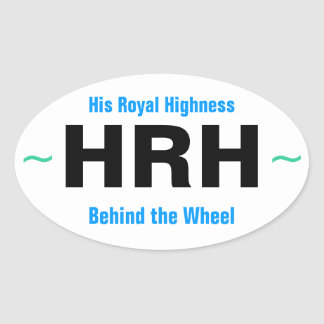 HIS ROYAL HIGHNESS stickers (4)