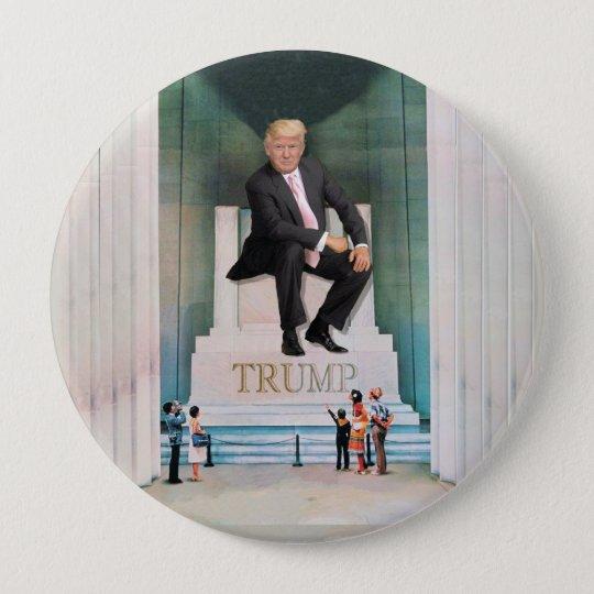 His Royal Trumpness 10 Cm Round Badge