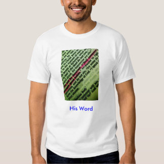His Word series 1 T Shirts