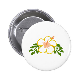 hiscus flower applique buttons