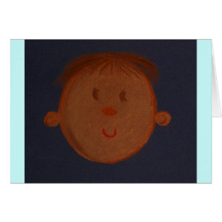 Hispanic Baby Greeting Card