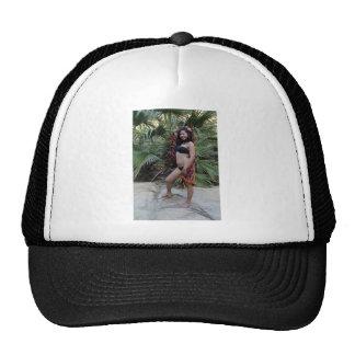 Hispanic Beauty Mesh Hat