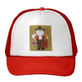 Hispanic Mexican Southwestern Texan Santa Claus Cap
