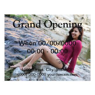 Hispanic Woman Creek 21.5 Cm X 28 Cm Flyer