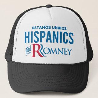 Hispanics for Romney Trucker Hat