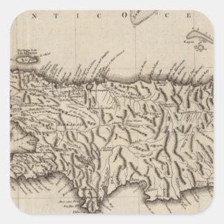Hispaniola, St Domingo Square Sticker