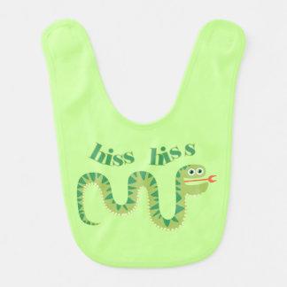 Hiss Hiss Snake Bib