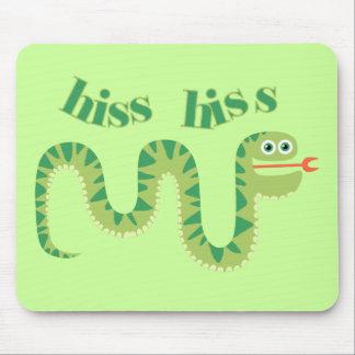 Hiss Hiss Snake Mouse Pad